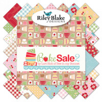 Riley Blake Fabrics - Bake Sale 2 - Lori Holt - 5 inch Stacker