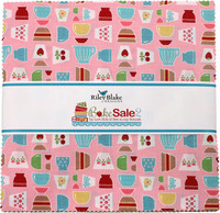 Riley Blake Fabrics Layer Cake - Bake Sale 2 by Lori Holt