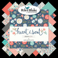 Riley Blake Fabrics - Heart and Soul by Deena Rutter - Fat Quarter Bundle