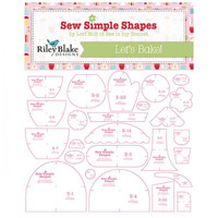 Riley Blake Designs - Lori Holt - Bake Sale 2 - Template Set