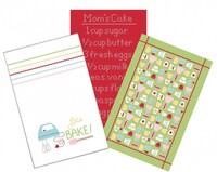 Riley Blake Fabrics - Lori Holt - Bake Sale 2 - Tea Towel Set of 3