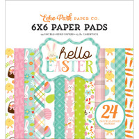 "Echo Park Paper - Double-Sided Paper Pad 6"" x 6"" - Hello Easter"