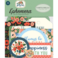 Carta Bella - Flora No. 2 Ephemera Cardstock Die-Cuts - Icons