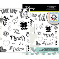 Disney - Mickey & Minnie Mouse Stamp Set - True Love