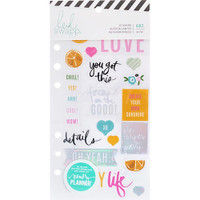 Heidi Swapp - Memory Planner Stickers - Fresh Start, Playful