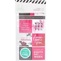 Heidi Swapp - Memory Planner Cardstock Stickers - Fresh Start, Elegant