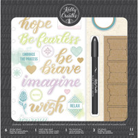 American Crafts - Kelly Creates Journal Accessory Kit