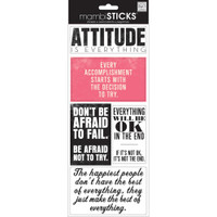 Me and My Big Ideas - The Happy Planner - Sayings Stickers - Attitude is Everything