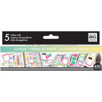 Me and My Big Ideas - The Happy Planner - Sticker Roll - Fitness