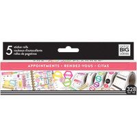 Me and My Big Ideas - The Happy Planner - Sticker Roll - Appointments
