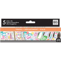 Me and My Big Ideas - The Happy Planner - Sticker Roll - Travel