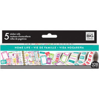 Me and My Big Ideas - The Happy Planner - Sticker Roll - Home Life