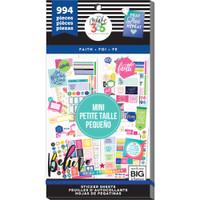 Me and My Big Ideas - The Happy Planner - Value Sticker Book - Faith - Mini (#994)