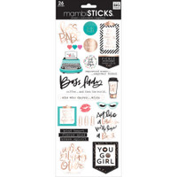 Me and My Big Ideas - The Happy Planner - Specialty Stickers - Boss Babe