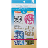 American Crafts - Planner Sticker Book - Inspirational Life