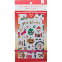 American Crafts - Planner Sticker Book - Seasonal