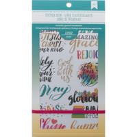 American Crafts - Planner Sticker Book - Faith