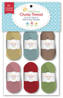 Riley Blake Designs - Lori Holt - Chunky Thread - Set of 6