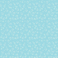 Riley Blake Fabric - Wide Backing - Bee Basics - Lori Holt - Chick Aqua