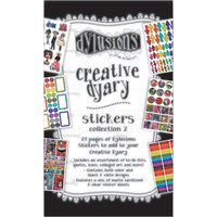 Dyan Reaveley's - Dylusions Creative Dyary - Sticker Book - Book 2