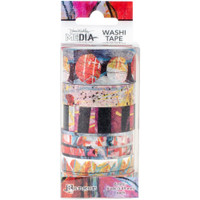 Dina Wakley Media - Washi Tape Set #1 - Set of 6