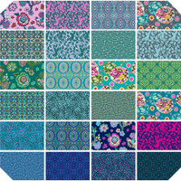 Free Spirit Fabrics - Fat Quarter Bundle - Night Music by Amy Butler