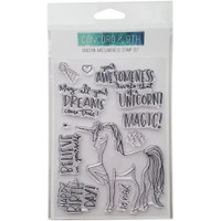 Concord & 9th - Clear Stamps - Unicorn Awesomeness