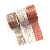 Prima Marketing - Amelia Rose Decorative  Washi Tape - Set of 3 - 20mm wide