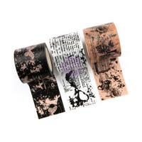 Prima Marketing - Prima Traveler's Journal Decorative Washi Tape - Butterfly Love - Set of 3 - 35mm wide