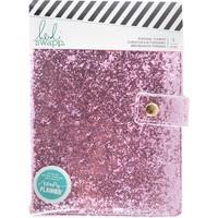 Heidi Swapp - Personal Memory Planner - Fresh Start - Pink Glitter