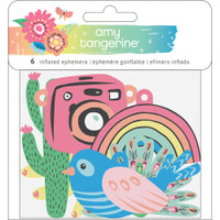 American Crafts - Amy Tangerine - Sunshine & Good Times - Inflated Ephemera