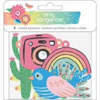 American Crafts - Amy Tangerine - Sunshine & Good Times - Inflated Ephemera