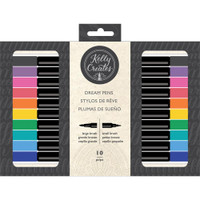 American Crafts - Kelly Creates - Dream Pens - Rainbow - Set of 10