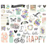 Carpe Diem - Simple Stories - Bliss Bits & Pieces Die Cuts