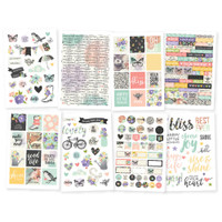 Carpe Diem - Simple Stories - Bliss Stickers