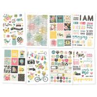 Carpe Diem - Simple Stories - I Am Stickers