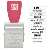 Carpe Diem - Simple Stories - I Am Rotary Stamp