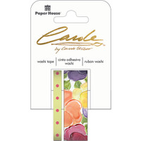 Paper House Washi Tape - Set of 2 - Pansies By Carol Shiber
