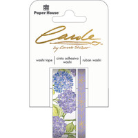 Paper House Washi Tape - Set of 2 - Hydrangea By Carol Shiber
