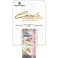 Paper House Washi Tape - Set of 2 - Wildflowers By Carol Shiber