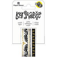 Paper House Washi Tape - Set of 2 - Boat Pattern By Karmabee