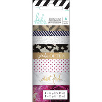 Heidi Swapp - Hawthorne Washi Tape Rolls - Set of 8