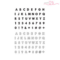Studio l2e - Planner Stamps - Basic Alphabet