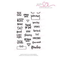 Studio l2e - Planner Stamps - Love Yourself