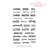 Studio l2e - Planner Stamps - Seasons