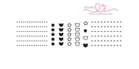 Studio l2e - Planner Stamps - List It: Kawaii