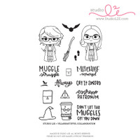 Studio l2e - Planner Stamps - Planner Wizards: Tiffy & K