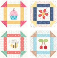 Lori Holt - Bee Happy Coaster - Set of 4