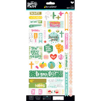 Illustrated Faith - Fruit Of The Spirit Cardstock Stickers - Say it Loud