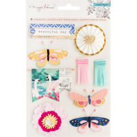 Crate Paper - Maggie Holmes - Flourish Standouts Layered Stickers